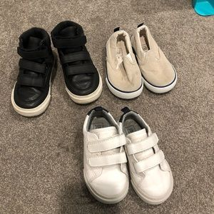 Baby boy toddler gap kids shoes bundle of 3